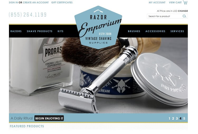 Razor emporium is the only destination for safety razor restoration