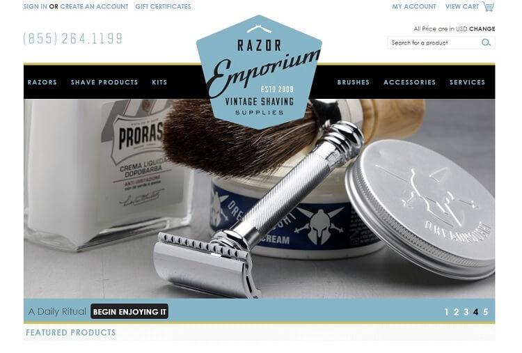 Razor emporium is the only destination for safety razor restoration