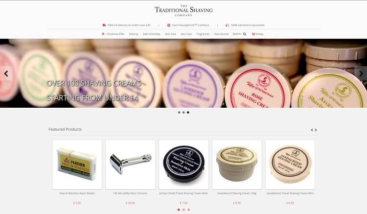 Traditional shaving - eshop in UK to buy a safety razor and shaving supplies
