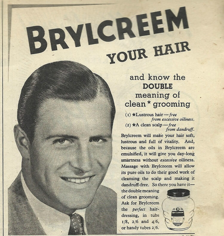 Hair pomade vs clay vs wax for men. Brylcreem was the first commercial hairstlying product