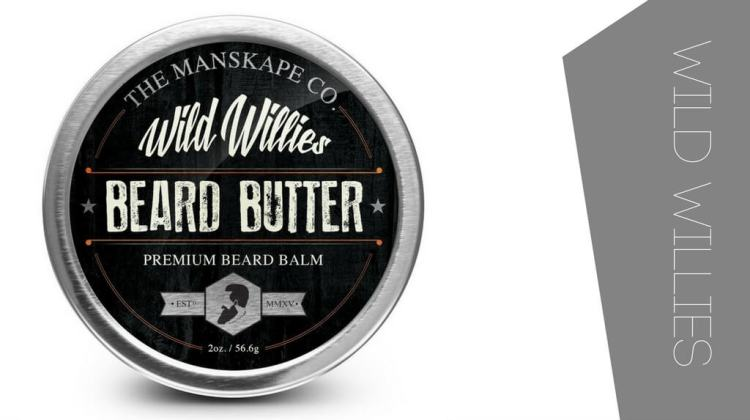Wild willies beard butter for silky and soft beards