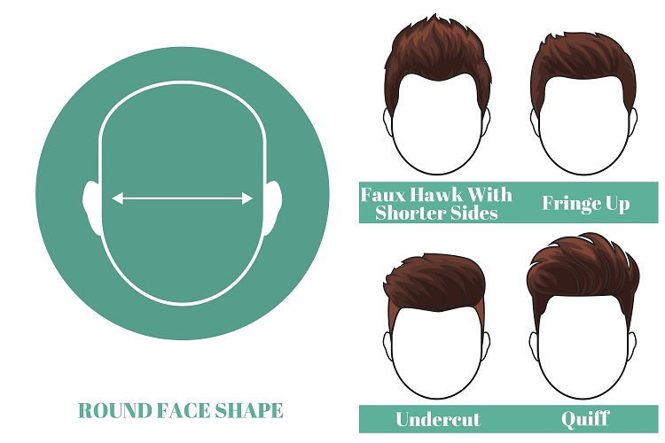 best short hairstyles for men with round face shape