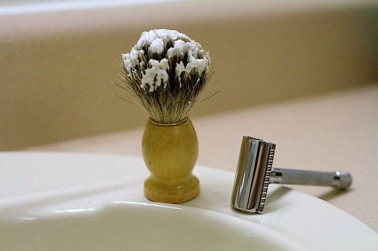 Consider ease of building lather and applying it on face before getting a shaving cream
