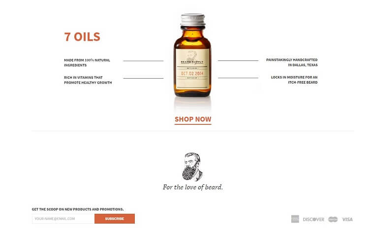 beard supply company eshop