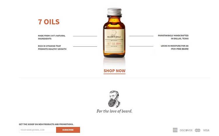beard supply company eshop