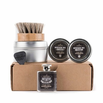 Basic Beard Care Kit - Initiative Beard Oil Flask