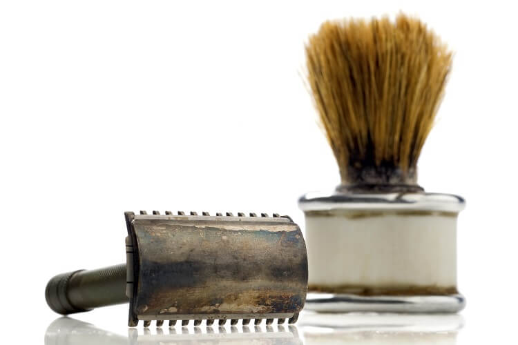 Razor burn and bumps can be caused by using old dull razors