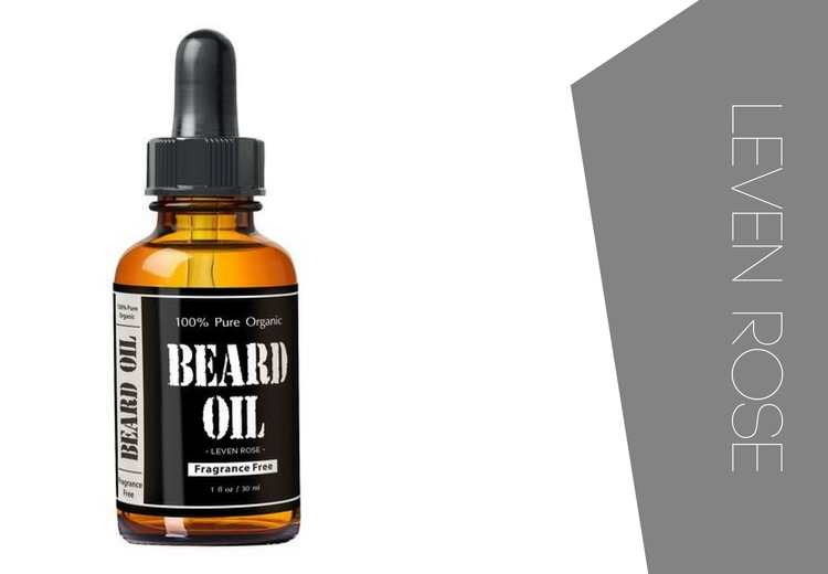 Leven Rose Beard Oil delivers excellent value for money making it one of the best beard oils you can buy
