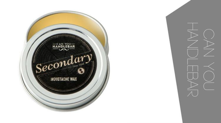 The top mustache wax by CanYouHandlebar with the Secondary wax