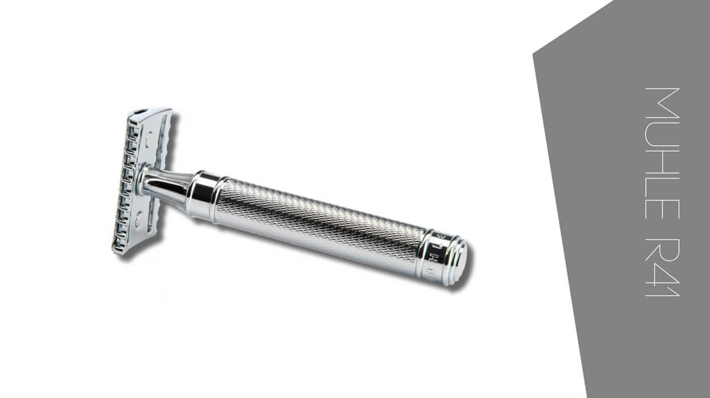 Review of Muhle R41 safety razor with open comb