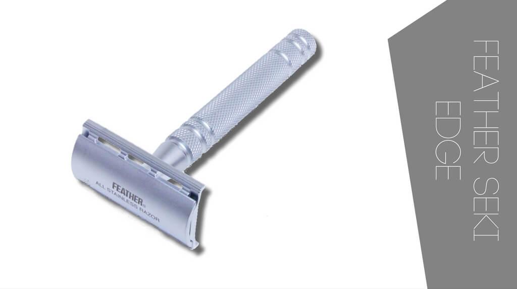 Review of Seki Edge AS-D2 safety razor. Premium safety razor with stainless steel body
