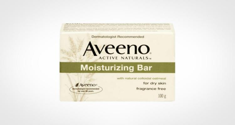 Aveeno bar soap for face washing
