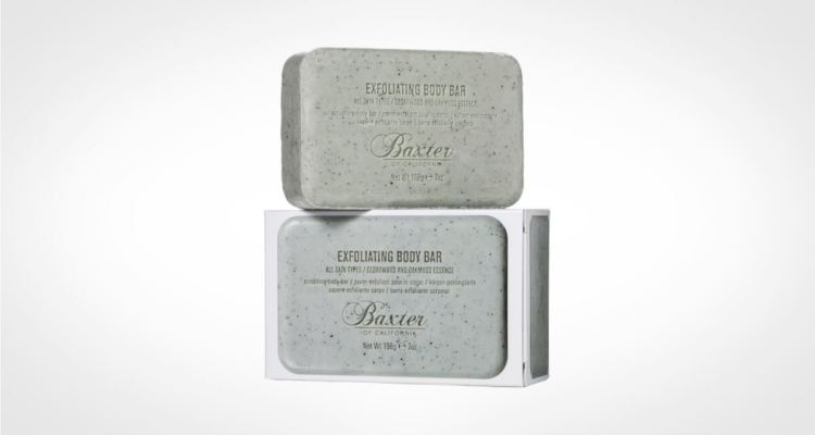 Bar soap for men by Baxter of California
