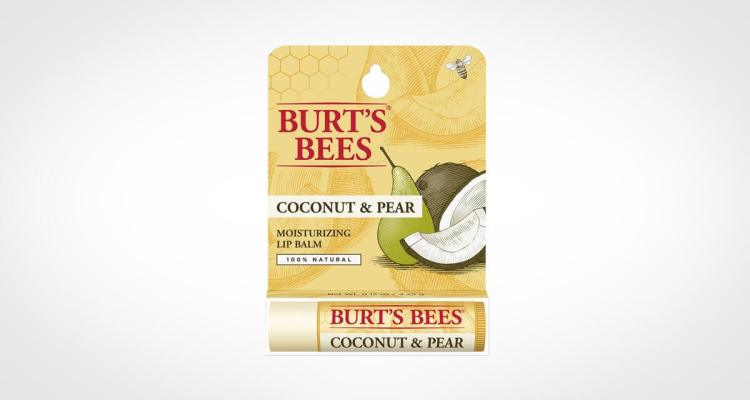 Burts Bees an all natural and organic lip balm for men