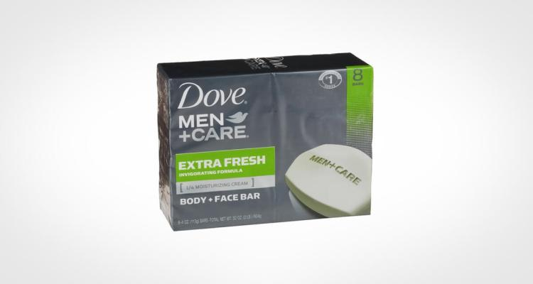 Dove Men Care Body and Face Bar Soap