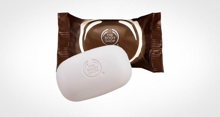 Body Shop bar soap coconut