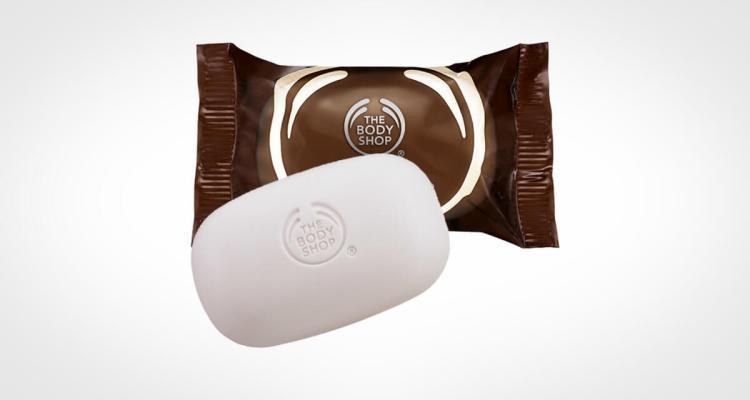 Body Shop bar soap coconut