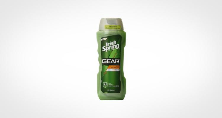 Irish Spring one of the top body wash for men for the price