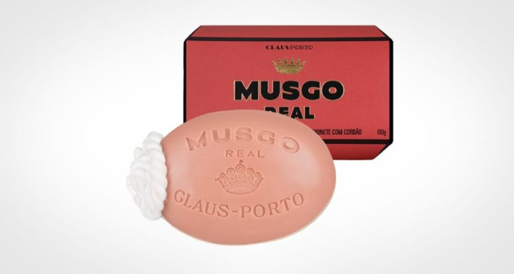 Musgo Real bar soap for men for body washing