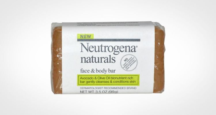 Neutrogena Naturals face and body bar soap