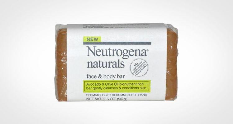 Neutrogena Naturals face and body bar soap