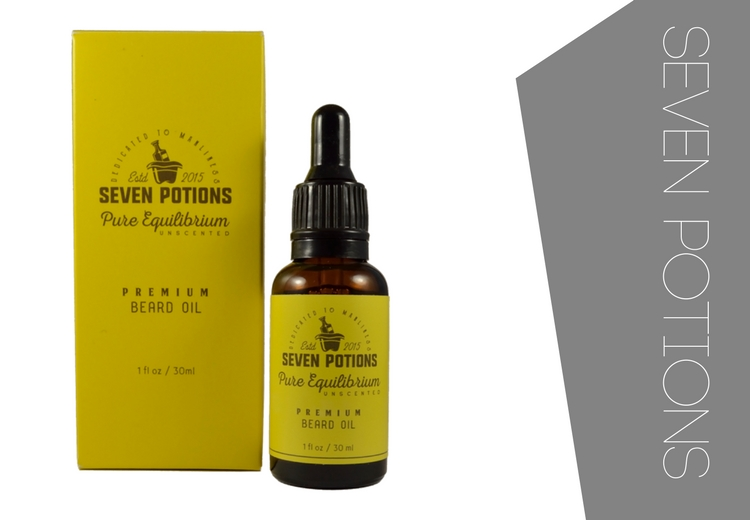 Seven Potions Beard Oil Pure Equilibrium