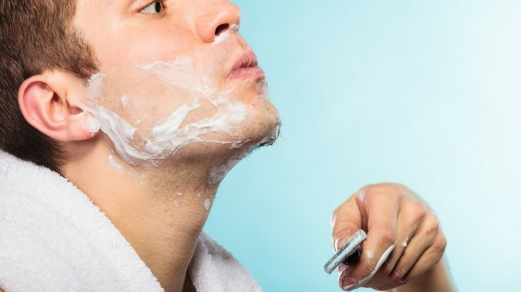 Shave with rich lather and proper technique to prevent razor bumps and razor burns