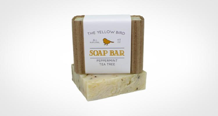The Yellow Bird Soap Bar Organic and All natural