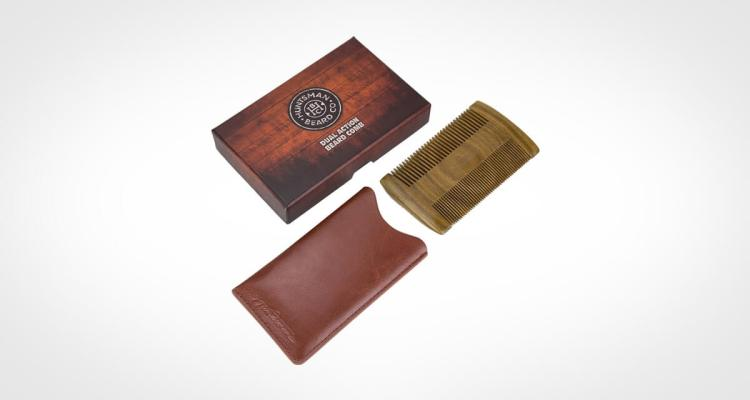 Hunstman Beard Co Wooden Beard Comb