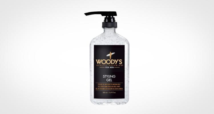 Woodys hair gel for men