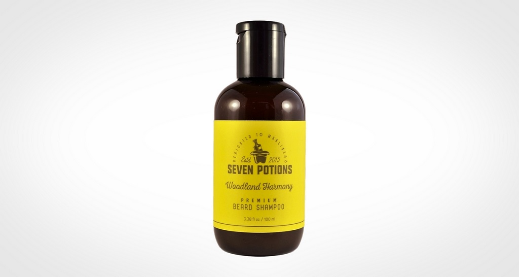 Best beard shampoo - Seven Potions Beard Shampoo 100 ml Woodland Harmony