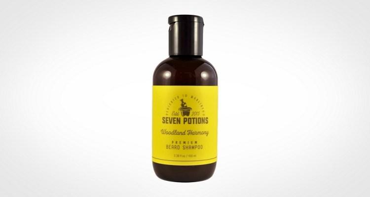 Best beard shampoo - Seven Potions Beard Shampoo 100 ml Woodland Harmony