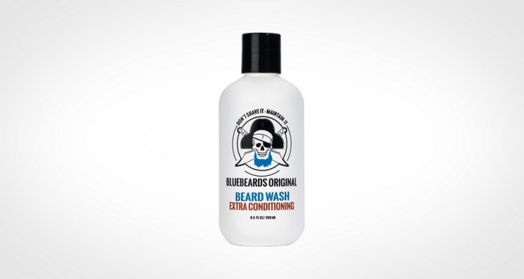Bluebeards original beard wash - transparent