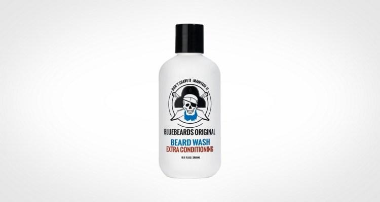 Bluebeards original beard wash - transparent