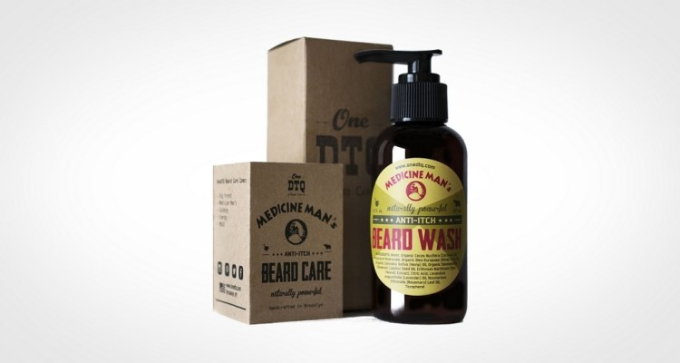 Medicine man top beard wash