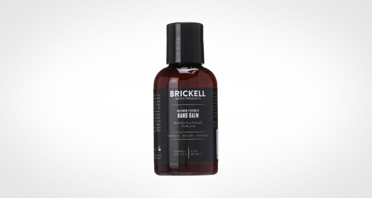 Brickell hand lotion for men