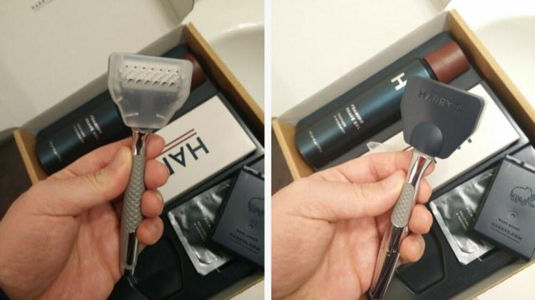 Harrys razor kit protective travel case