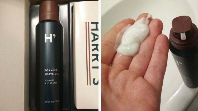 Harrys shaving gel