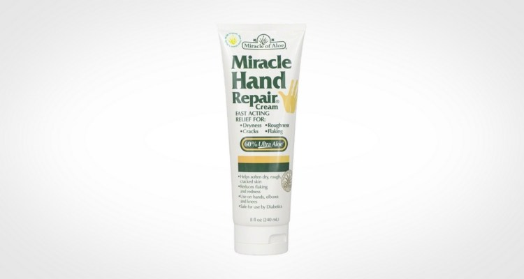 Miracle hand cream for men with dry hands