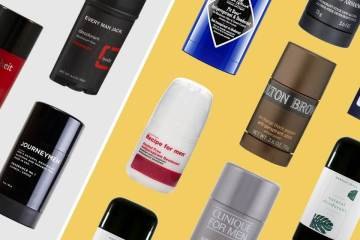 Best deodorants and antiperspirants for men