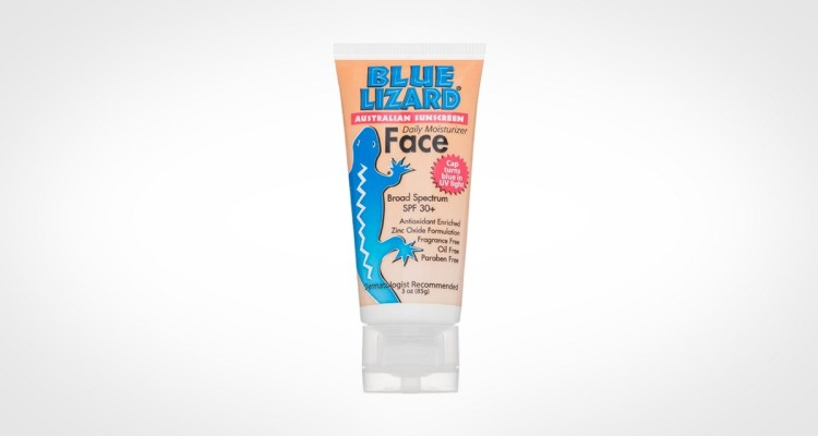 Blue Lizard Men's Sunscreen Face Daily Moisturizer