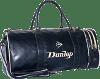 Dunlop leather gym bag for men