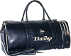 Dunlop leather gym bag for men