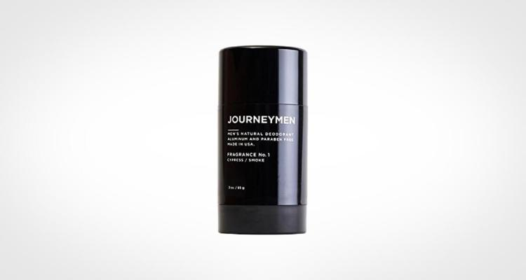 Journeyman men's natural deodorant