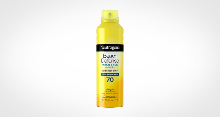 Neutrogena Beach Defense Spray Sunscreen for men