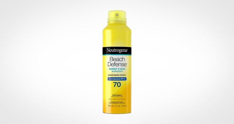 Neutrogena Beach Defense Spray Sunscreen for men
