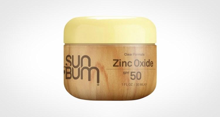 Sun Bum Clear Zinc Oxide Sunscreen Lotion for men