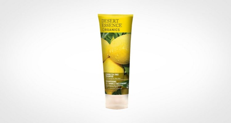 Desert Essence shampoo for men with oily hair