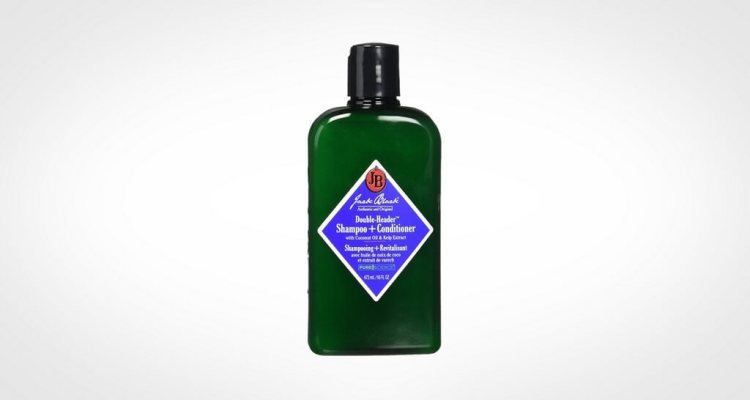 Jack Black shampoo for men with dry hair and scalp