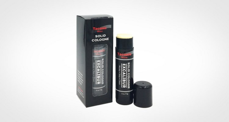 Taconic shave solid cologne for men